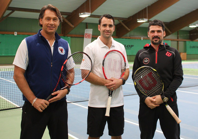 Michael Lingner (li.), Nicolas Kiefer (mi.) und Jan Sierleja (re.)